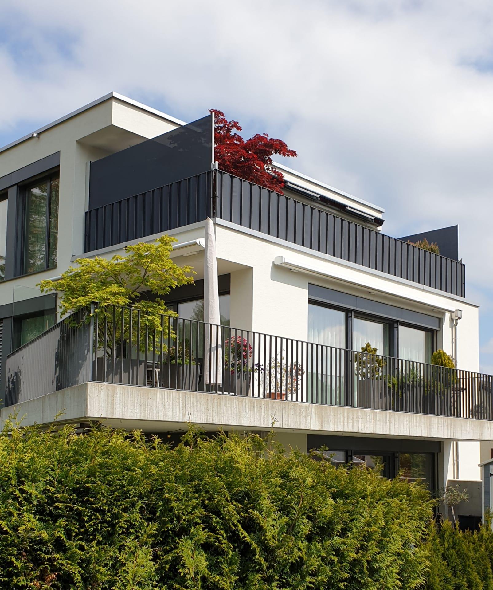 Relativ Balkonschutz für jedes Geländer und jeden Geschmack von ombra HA21