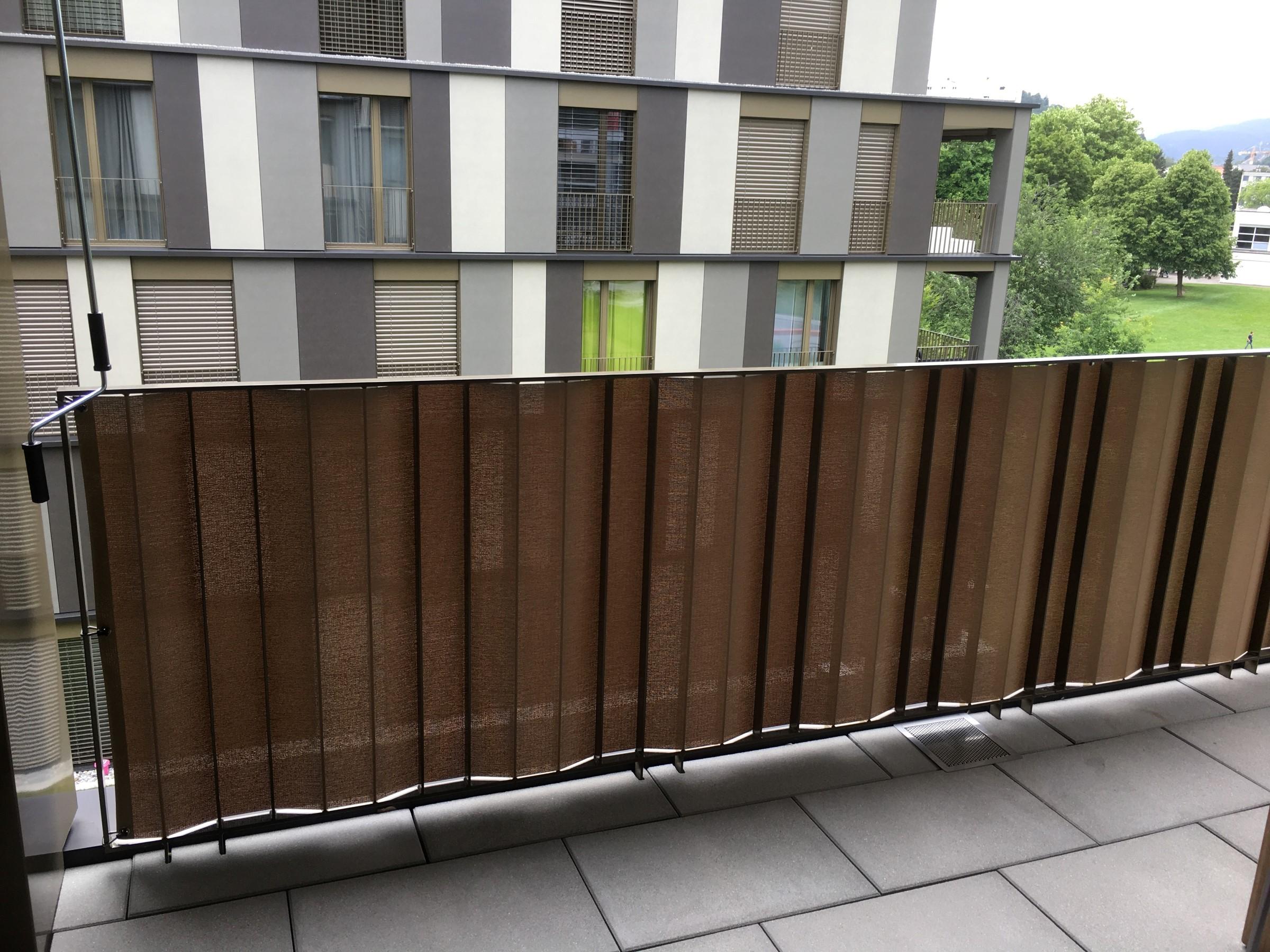 Top Balkonschutz für jedes Geländer und jeden Geschmack von ombra CJ81