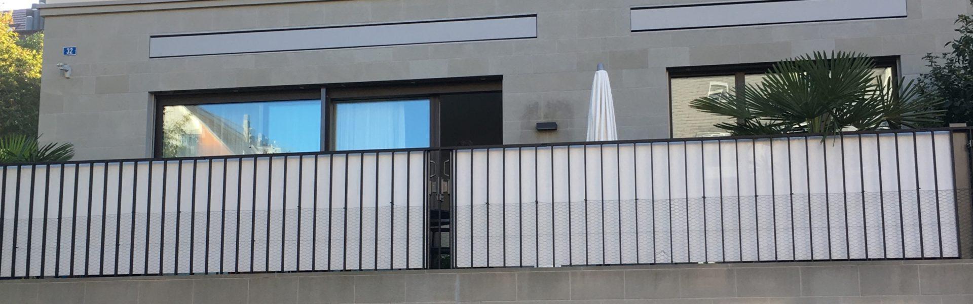 ombra Balkonschutz für Windschutz und Sichtschutz